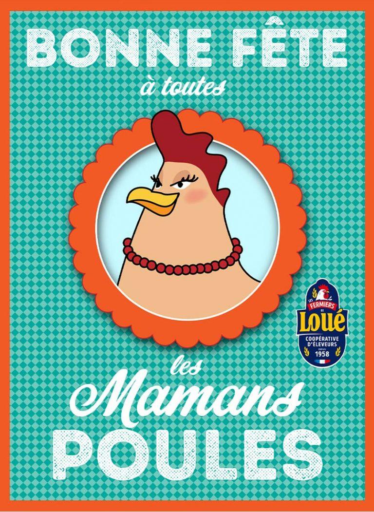 fete-meres-poules-loue-retro-illustration-maman-loue-dessin-vintage-ecorce