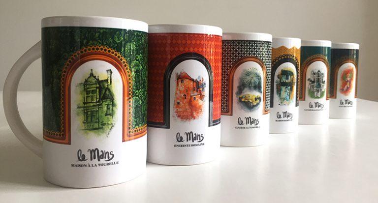 mug-lemans-tourisme-cathedrale-plantagenet-tasse-cadeau-illustration-dessin-souvenir